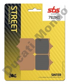 SBS Front brake pads for Aprilia RSV1000 Sintered 4 pad calipers 762HS