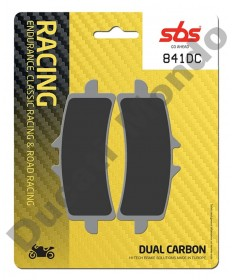 SBS 841DC Dual Carbon Front brake pads