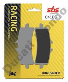SBS Dual Sinter Front brake pads Ducati Radial calipers 841DS