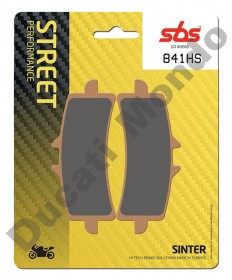 SBS Front brake pads for Ducati - Sintered Radial calipers 841HS