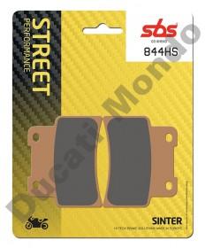 SBS Sintered front brake pads Aprilia RS125 06-11 Dorsoduro 750 SL Shiver Mana 850 844HS Sinter