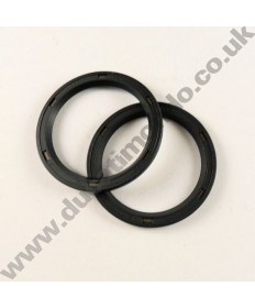 Eccentric rear hub Seal Rings PAIR for Ducati 748 916 996 998 Monster S2R S4R S4Rs 1100 Multistrada 1000 1100 Hypermotard 796 1100