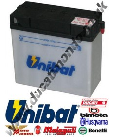 Unibat CT12B-BS Motorcycle Battery (YT12B-BS) for Ducati