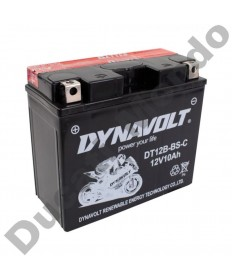 Dynavolt DTX12BBS Motorcycle Battery CTX12B-BS for Ducati YTX12B-BS