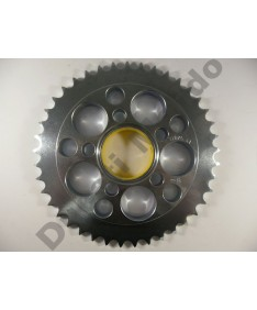 Esjot Sprockets 41 tooth 520 pitch steel rear sprocket for Ducati 748 Monster S2R 800 520 conversion for 848 916 996 998 50-32075-41