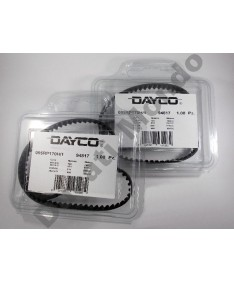 Dayco 95 tooth cam timing belts pair for Ducati 748 851 888 916 996 S SP SPS Strada non OEM equivalent to 73710091A