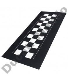 Biketek Garage Mat Series 4 Checker Board 190 x 80 cm