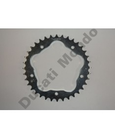 JT Sprockets 38 tooth 520 pitch steel rear sprocket for Ducati 748 Monster S2R 800 520 conversion for 848 916 996 998 JTR751.38