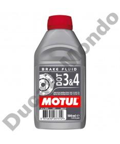 MOTUL hydraulic clutch & brake fluid DOT 3 & 4 500ml