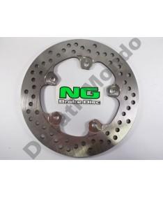NG NG1341 rear brake disc for Aprilia RS50 99-05 RS125 99-13 & RSV1000 98-11 Tuono 1000 02-11 RSV4 09-15 Tuono V4R 11-14