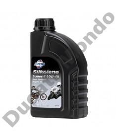 Silkolene Super 4 Semi Synthetic 1L 10w40 motorcycle engine oil S600986087