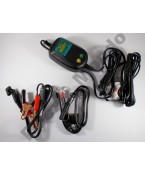 Battery Tender waterproof 800 MA charger aligator clips ring terminal sparkproof