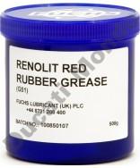 Fuchs Renolit red rubber grease G51 - 500g - brake caliper seals
