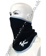 MotoGP bandit face mask neck tube in black with embroidered logo MGPBDTBK