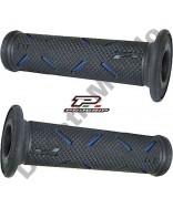 Progrip 717 Blue & Black Gel Touch Dual Compound GP Handle Bar Grips