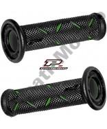 Progrip 717 Green & Black Gel Touch Dual Compound GP Handle Bar Grips