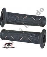 Progrip 717 Grey & Black Gel Touch Dual Compound GP Handle Bar Grips