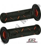 Progrip 717 Orange & Black Gel Touch Dual Compound GP Handle Bar Grips