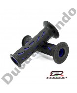 Progrip Gel Touch Dual Compound Handle Bar Grips PG724 Blue & Black