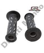 Progrip Gel Touch Dual Compound Handle Bar Grips Grey & Black PG724