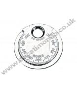 BikeTek Motorcycle Spark Plug Gap Gauge Keyring Coin Style SPKCOIN